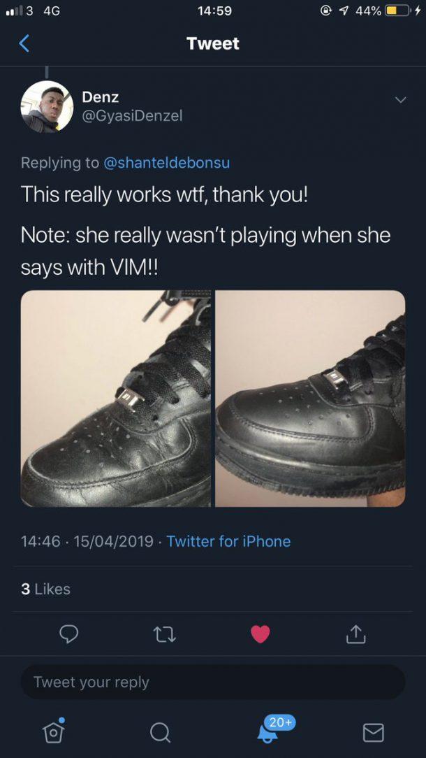 kreukel sneakers hack
