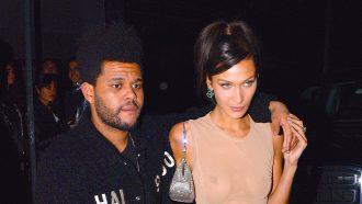 Bella Hadid The Weeknd vakantie