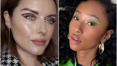 floating crease make-up trend
