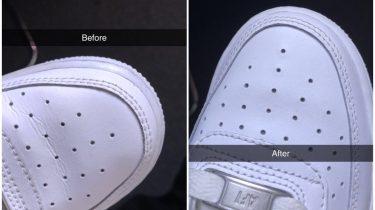 kreukels sneakers hack