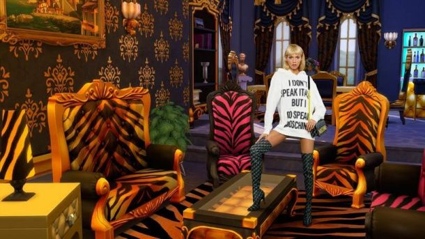 Moschino Sims collectie