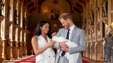 Meghan Harry baby foto