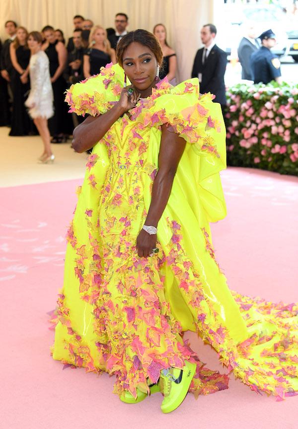 Serena Williams Versace ontwerpers