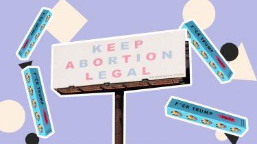 lipslur campagne anti-abortuswet