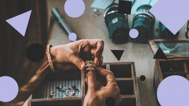 gouden sieraden mooi houden