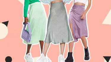 slip skirt skirt