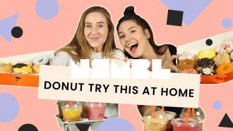 video dunkin donuts test