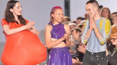 ontwerper ballon jurk