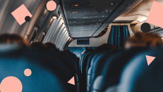 vliegtuig comfortabel