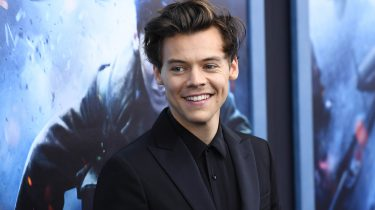 Harry Styles cover zonder shirt