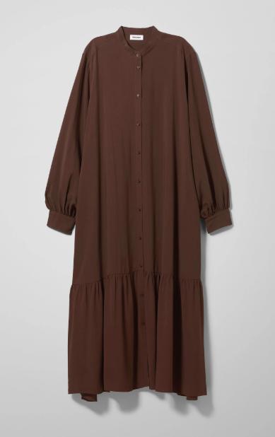 bruine kleding