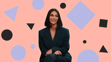 Kim Kardashian kapsel