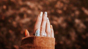 Halloween nagellak nail art