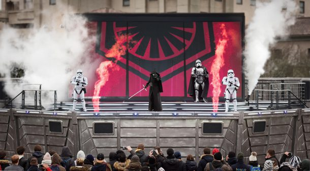 Disneyland Paris Frozen Star Wars
