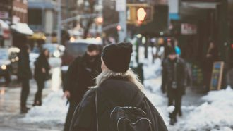 winter wandelen kou