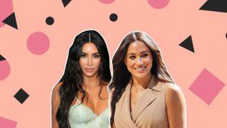 kim kardashian meghan markle