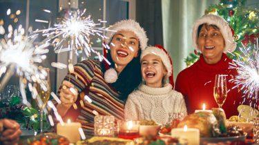 smartphone kerst diner