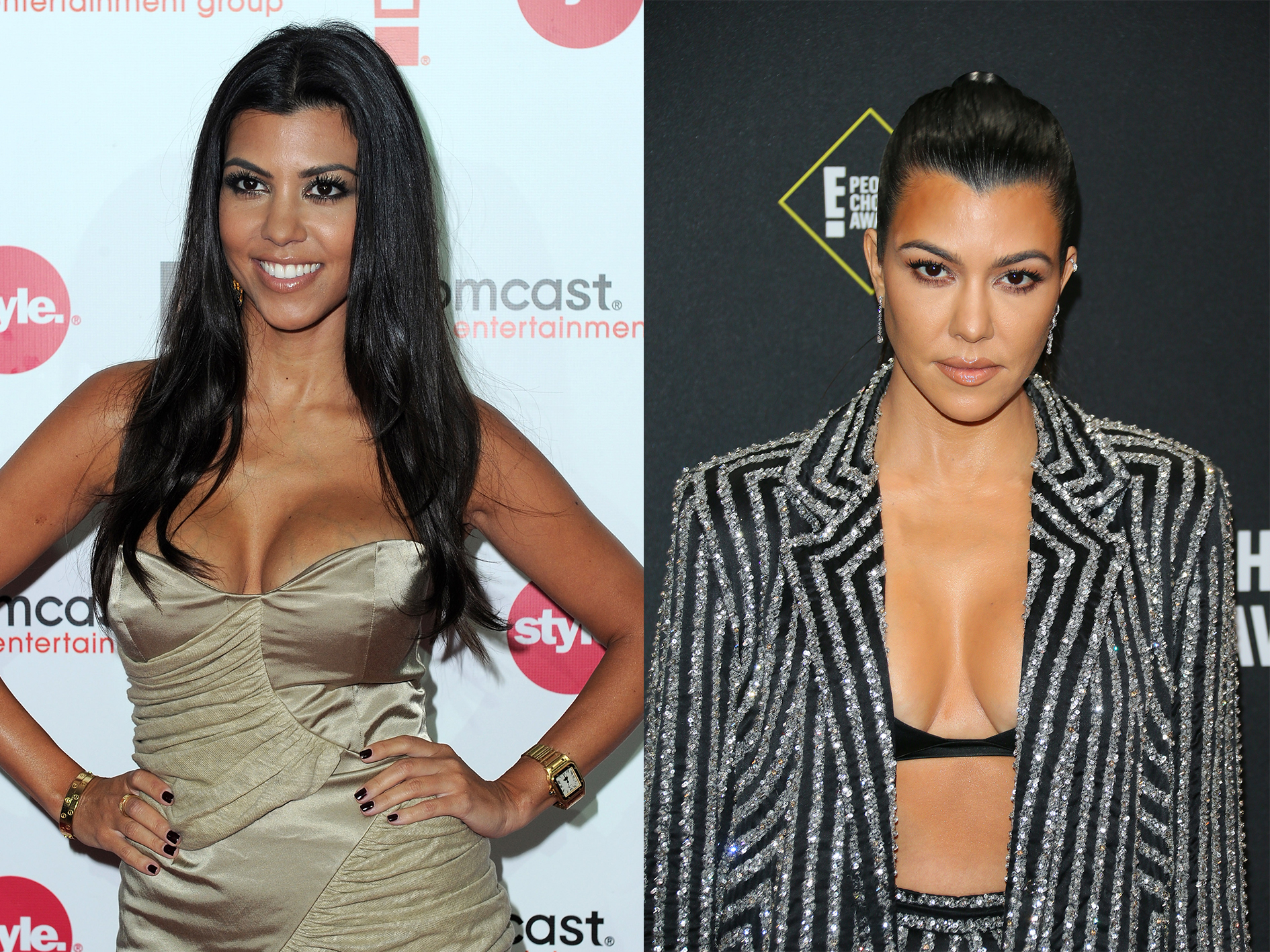 kardashians decennium transformaties