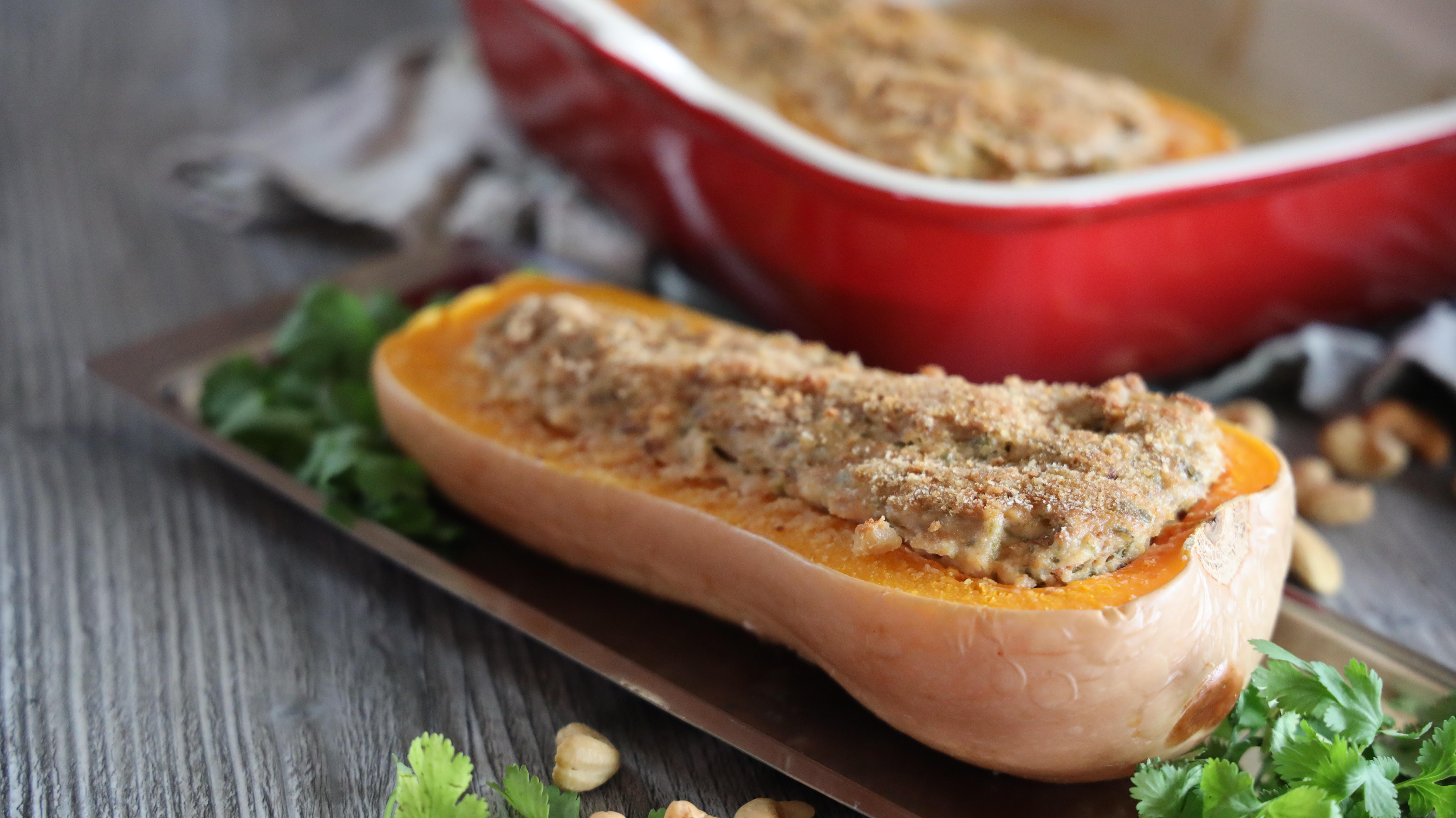 gevulde pompoen mozzarella recepten seizoensgroenten