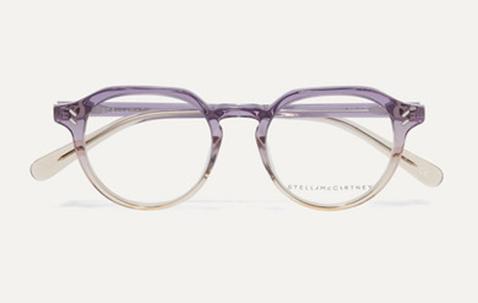 halfronde bril fashion wereld