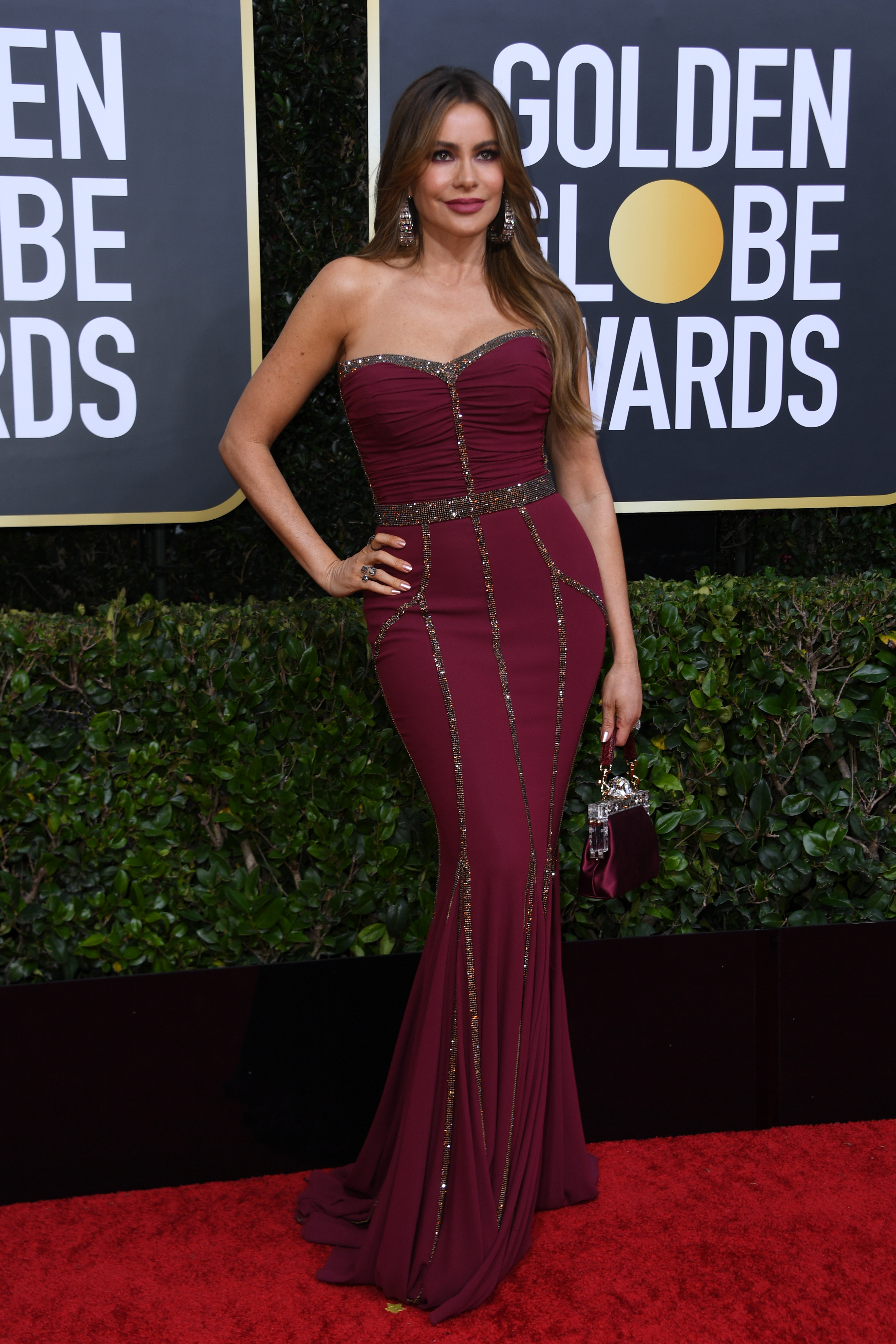 sofia vergara golden globes celebrities