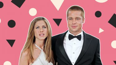 brad pitt jennifer aniston the golden globes