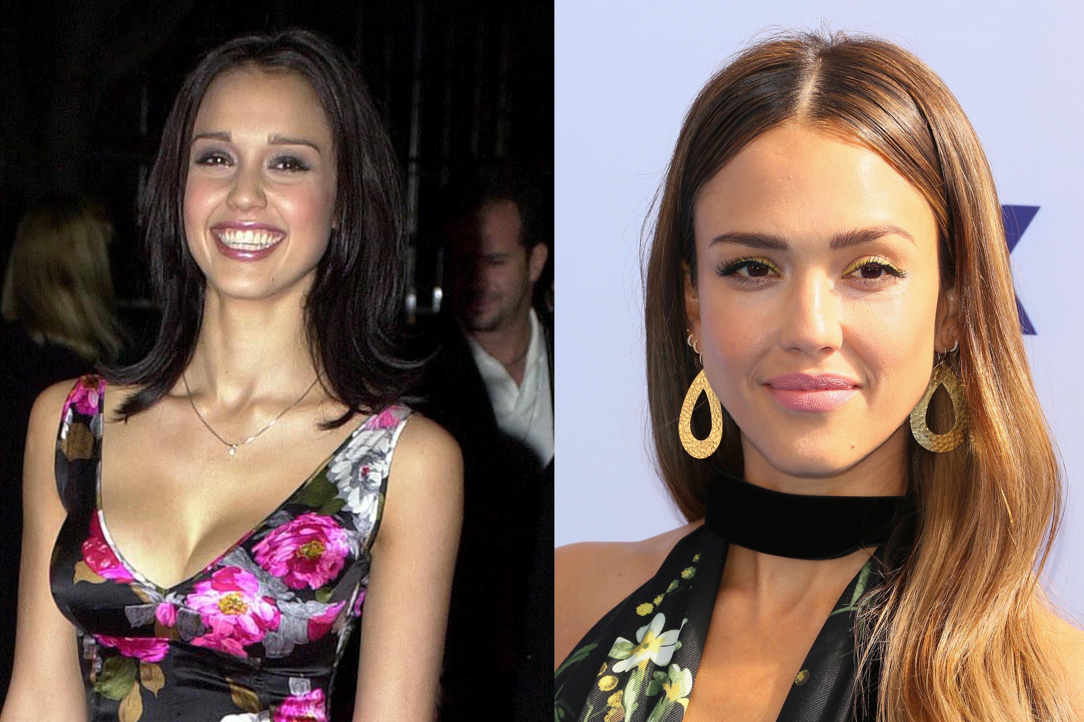 jessica alba haar celebrities