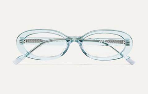 ovale ouderwetse brillen